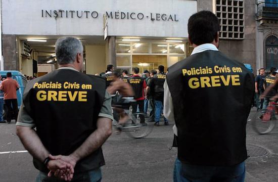 Policiais Civis fazem paralização nesta quarta-feira em quase todo país