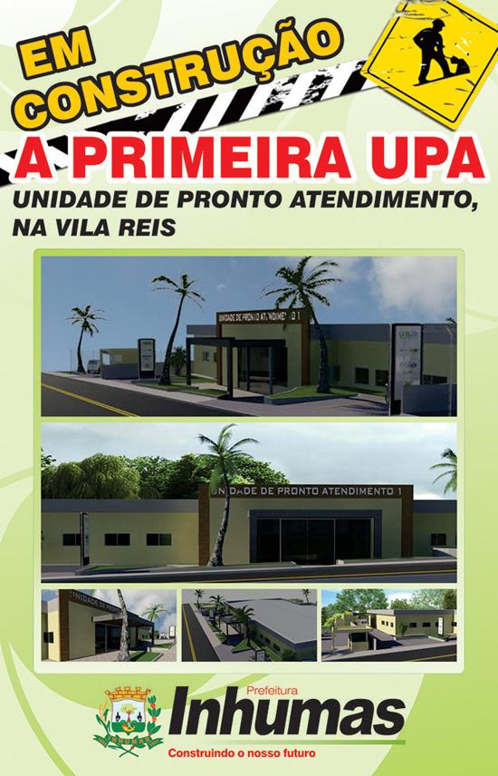 PREFEITURA CONSTRUIRÁ UPA