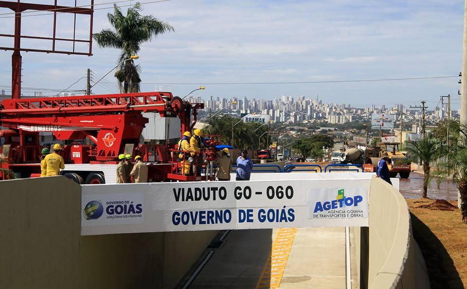 Governo Estadual inagura viadutos das GOs 060 e 070