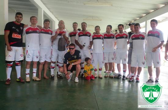 Final do Torneio de Futebol Society Senior 2014