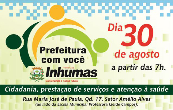 Prefeitura com Você atende região do Amélio Alves