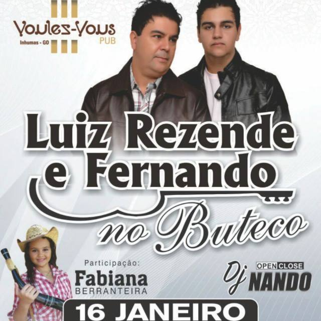 Luiz Rezende e Fernando na Voulez Vous