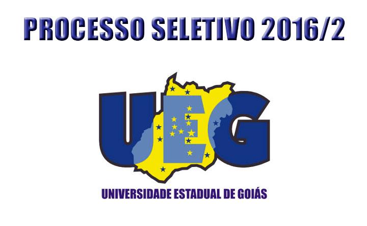 UEG abriu inscrições para processo seletivo 2016/2