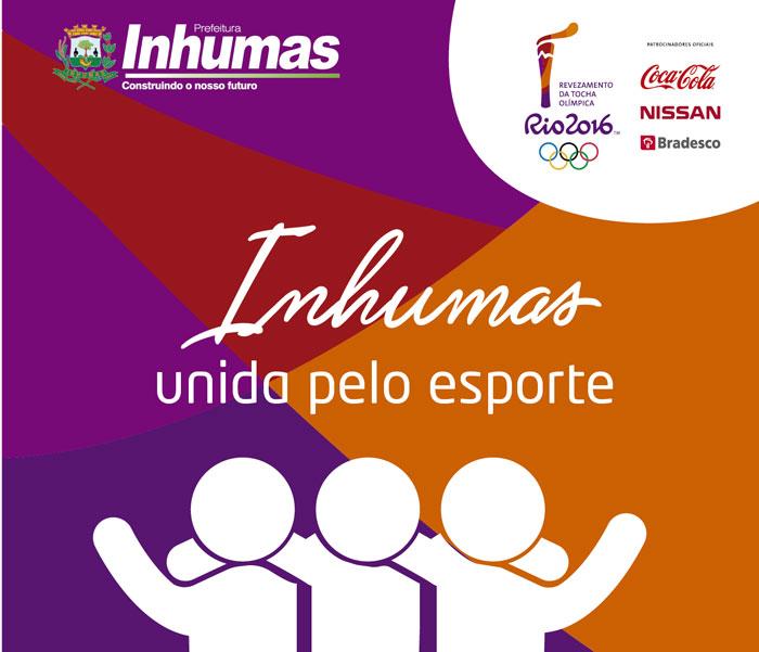 Revezamento da Tocha Olímpica passa por Inhumas na quinta-feira próxima