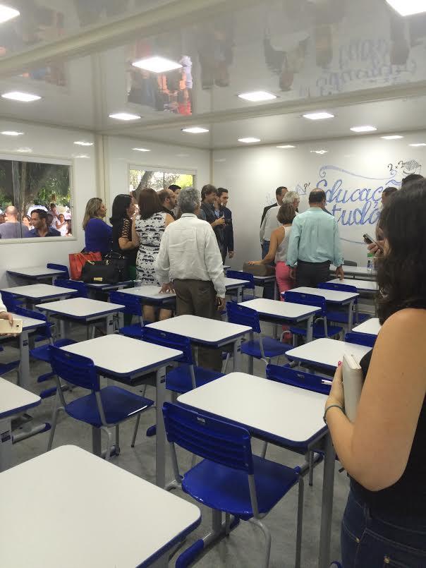 Inhumas irá receber salas de aula modulares e climatizadas
