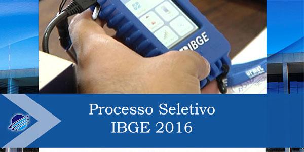 IBGE abre inscrições para processo seletivo