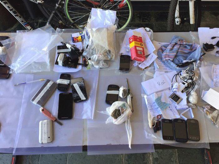 Polícia desarticula  grupo suspeito de tráfico conduzido por presos de Inhumas-GO