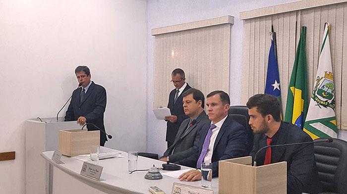 Primeira Sessão Solene de 2017 foi realizada na Câmara de Vereadores