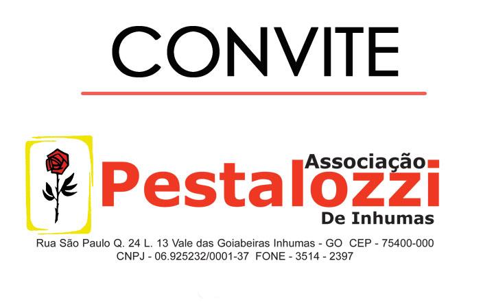 A Associação Pestalozzi organiza econtro e convida você!