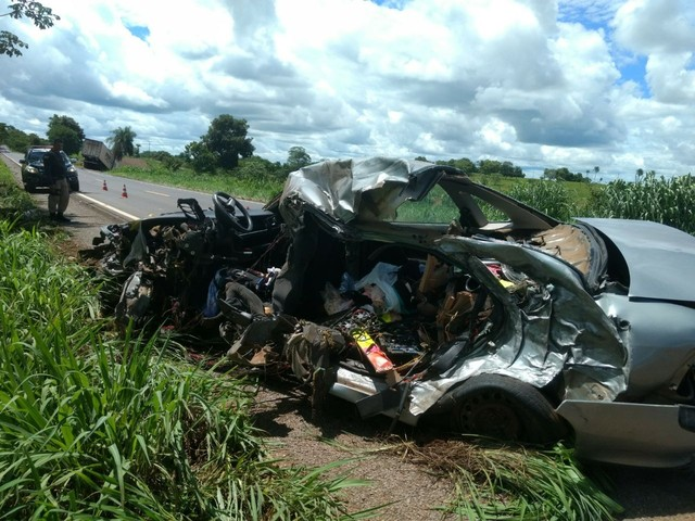 Acidente em rodovia do MT mata 3 inhumenses
