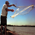 Pesca embarcada proibida