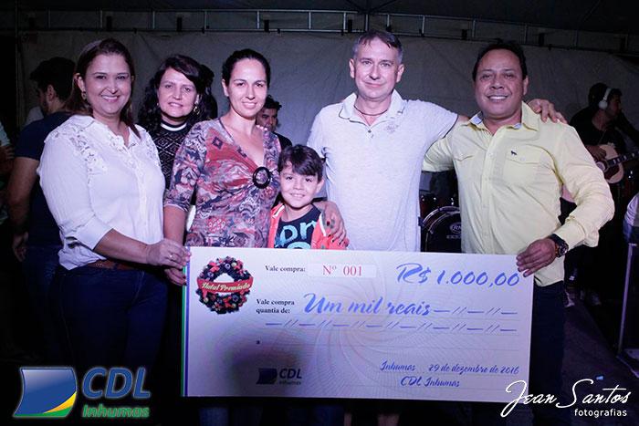 Natal Premiado CDL Inhumas 2016 - Foto 10