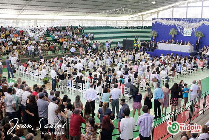 Cerimônia de Posse do Prefeito e Vereadores em Inhumas/GO